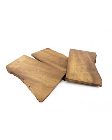 Lot de plaquettes / bijouterie en bois de cannelle